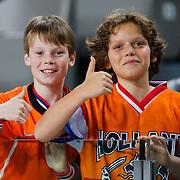 NLD/Amsterdam/20121114 - Vriendschappelijk duel Nederland - Duitsland, Tim Boersma en kinderen