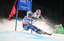 12.02.2013, Planai, Schladming, AUT, FIS Weltmeisterschaften Ski Alpin, Teambewerb, im Bild Maria Pietilae-Holmner (SWE) // Maria Pietilae-Holmner of Sweden in action during Team Competition at the FIS Ski World Championships 2013 at the Planai Course, Schladming, Austria on 2013/02/12. EXPA Pictures © 2013, PhotoCredit: EXPA/ Johann Groder