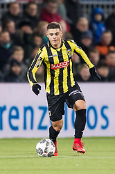 Milot Rashica of Vitesse during the Dutch Eredivisie match between PEC Zwolle and Vitesse Arnhem at the MAC3Park stadium on January 27, 2018 in Zwolle, The Netherlands