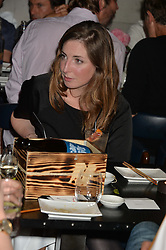 ROSE FARQUHAR at the launch of Geisha at Ramusake hosted by Piers Adam and Marc Burton at Ramusake, 92B Old Brompton Road, London on 11th June 2015.