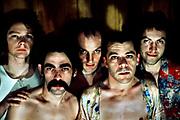 Ian Dury with Kilburn and the High Roads lineup 1975