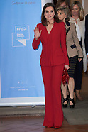 030619 Queen Letizia attends the proclamation of the winner of the 2019 Princess of Girona