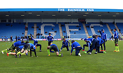 Bristol Rovers warm up at Gillingham - Mandatory by-line: Robbie Stephenson/JMP - 16/12/2017 - FOOTBALL - MEMS Priestfield Stadium - Gillingham, England - Gillingham v Bristol Rovers - Sky Bet League One