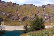 The French Alps landscape at Rochemolles