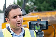 Anas Sarwar visits Advance Construction, Livingston, 22 October 2021