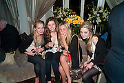 rosie bogle; frederique hawthorne; sara buning; ella simon; jessica luddington; chloe smith ( below) The after-party after the premiere of Duncan WardÕs  film ÔBoogie WoogieÕ ( based on the book by Danny Moynihan). Westbury Hotel. Conduit St. London.  13 April 2010 *** Local Caption *** -DO NOT ARCHIVE-© Copyright Photograph by Dafydd Jones. 248 Clapham Rd. London SW9 0PZ. Tel 0207 820 0771. www.dafjones.com.<br /> rosie bogle; frederique hawthorne; sara buning; ella simon; jessica luddington; chloe smith ( below) The after-party after the premiere of Duncan Ward's  film 'Boogie Woogie' ( based on the book by Danny Moynihan). Westbury Hotel. Conduit St. London.  13 April 2010