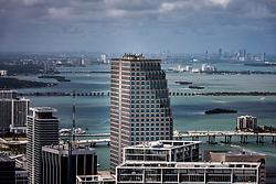 View of downtown Miami.