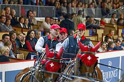 Ulrich Werner, SUI<br /> World Cup Driving - Bordeaux 2002<br /> © Hippo Foto - Dirk Caremans<br /> 10/02/2002