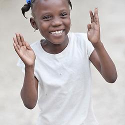 Children, Haiti