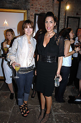 Left to right, DAISY BATES and JESSICA DE ROTHSCHILD at the Stephen Webster launch party of his latest jewellery collection during the London Jewellery Week, at Wilton's Music Hall, Graces Alley, Off Ensign Street, London E1 on 12th June 2008.<br /><br />NON EXCLUSIVE - WORLD RIGHTS