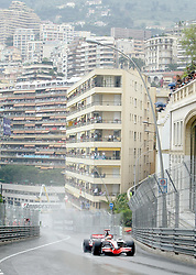 File photo dated 25-05-2008 of Lewis Hamilton on his way to victory during The Monte Carlo Grand Prix, Monaco.