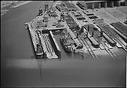 "Ackroyd 01671-2 ""Misc. aerials. August 9, 1949"" Swan Island"