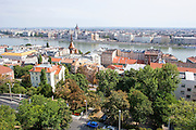 Eastern Europe, Hungary, Budapest, cityscape from the Cittadella