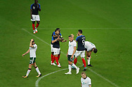 Nabil FEKIR (FRA) scored a gaol and celebrated it with Olivier GIROUD (FRA) and Blaise MATUIDI (FRA), J. WALTERS (IRL), Declan Rice (IRL), Alan Browne (IRL), James McClean (IRL), Benjamin MENDY (FRA) during the FIFA Friendly Game football match between France and Republic of Ireland on May 28, 2018 at Stade de France in Saint-Denis near Paris, France - Photo Stephane Allaman / ProSportsImages / DPPI