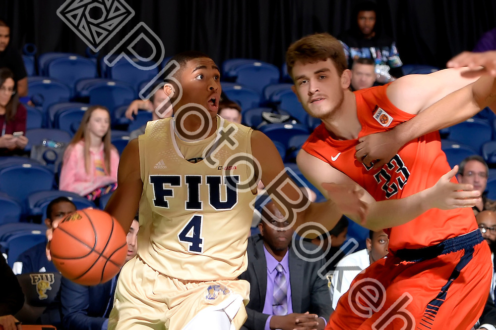 2016 February 11 - FIU's Kimar Williams (4). <br /> Florida International University fell to UTEP, 74-84, at FIU Arena, Miami, Florida. (Photo by: Alex J. Hernandez / photobokeh.com) This image is copyright by PhotoBokeh.com and may not be reproduced or retransmitted without express written consent of PhotoBokeh.com. ©2016 PhotoBokeh.com - All Rights Reserved