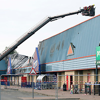 St Catherines Retail Park Fire