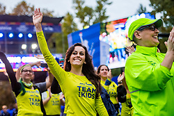 02-11-2018 USA: NYC Marathon We Run 2 Change Diabetes day 1, New York<br /> The day for the opening ceremony /