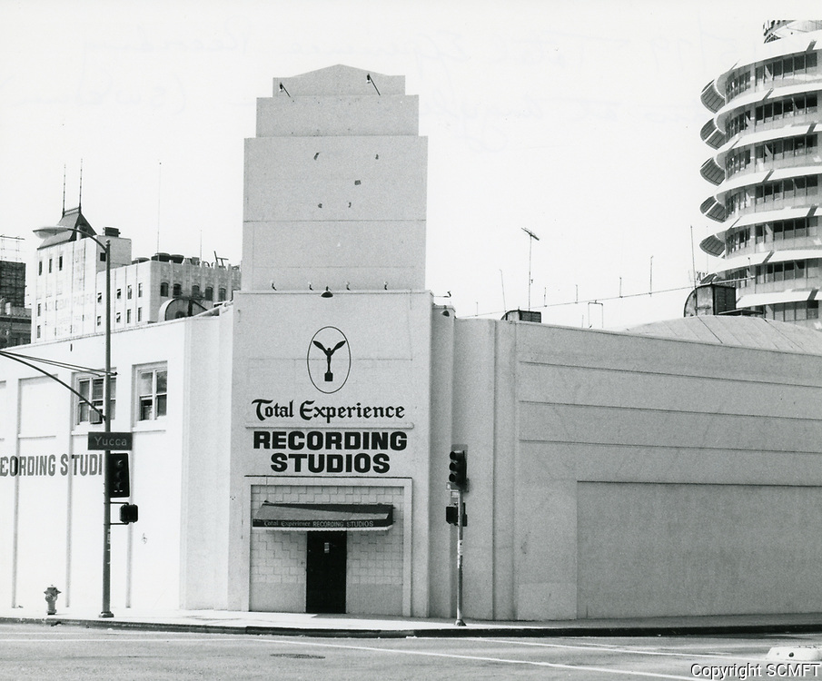1979 The Total Experience Recording Studio on the SW corner of Argyle & Yucca Ave.