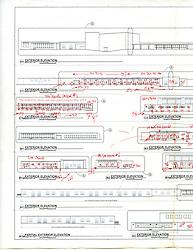 Sarah Gibbons Middle School Pre-Demolition Documentation. Key Plan Number 12 of 15