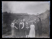 family group portrait France 1933
