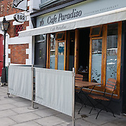 Cafe Paradiso, Cork, Ireland.
