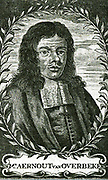 Aernout van Overbeke.  In the beginning of 1672 Overbeke, a lawyer and Admiral of the return-fleet, touched at the Cape.  He made a formal purchase of the land, then occupied by the Dutch East India Co.  He paid the Hottentots about £1600, not in cash but in goods, the real value of which was less than £10.-