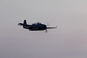 TBM-3 Avenger of the Erickson Aircraft Collection flying for a demonstration.