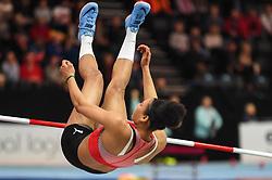 March 2, 2018 - Birmingham, Gangwon, United Kingdom - Kendell Williams at high jump Pentathlon at World indoor Athletics Championship 2018, Birmingham, England on March 2, 2018. (Credit Image: © Ulrik Pedersen/NurPhoto via ZUMA Press)