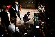 Virginia Raggi al Teatro Argentina, Roma 30 giugno 2016. Christian Mantuano / OneShot
