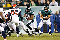 Philadelphia Eagles running back Brian Westbrook #36 carries the ball during the NFL game between the Denver Broncos and the Philadelphia Eagles on December 27th 2009. The Eagles won 30-27 at Lincoln Financial Field in Philadelphia, Pennsylvania. (Photo By Brian Garfinkel)