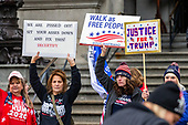 Pro-Trump 'Stop the Steal' Rally - Harrisburg, PA - January 5, 2021