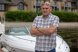 Alan Wright at the Lodge at Luss, he was involved in the with the emergency services on Loch Lomond. He took paramedics on his boat to try and rescue the boy who drowned on Sunday.