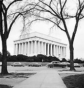 9969-D22. Lincoln Memorial,  Washington, DC, March 24-April 1, 1957