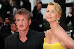Charlize Theron, Sean Penn attending the Mad Max Fury Road premiere taking place during the 68th Festival de Cannes held at the Grand Theatre Lumiere, Palais des Festivals, Cannes, France.