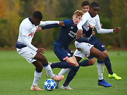 November 6, 2018 - London, England, United Kingdom - Enfield, UK. 06 November, 2018.L-R Timothy Eyoma of Tottenham Hotspur and Yorbe Vertessen of PSV Eindhoven.during UEFA Youth League match between Tottenham Hotspur and PSV Eindhoven at Hotspur Way, Enfield. (Credit Image: © Action Foto Sport/NurPhoto via ZUMA Press)