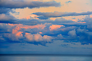 Sunset over Northumberland Strait <br /> Cap-Lumiere<br /> New Brunswick<br /> Canada