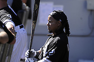 CHICAGO - SEPTEMBER 12:  Manny Ramirez #99 of the Chicago White Sox looks on from the dugout against the Kansas City Royals on September 12, 2010 at U.S. Cellular Field in Chicago, Illinois.  The White Sox defeated the Royals 12-6.  (Photo by Ron Vesely)