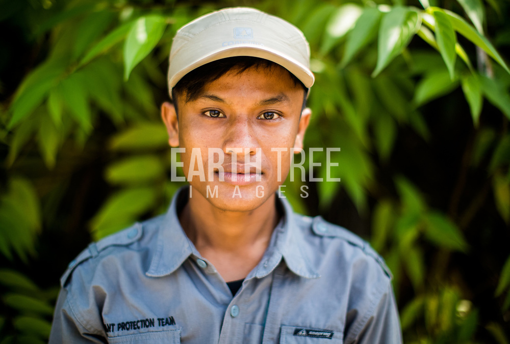 """Meet the rangers from our elephant patrol unit. Ardiansyah """"Ardi"""" 22 Years Old, FKL Ranger for 4 Months, From Mesir Village. @wildlifeasia<br /> In Ardi's words """"I want to make a prevention action before the elephants get into the village, this was the reason I joined FKL. But unlike Ali, my motivation came not just because of my love for elephants but also my experience. My village is frequently visited by elephants. Earlier this year out on patrol, I was completely surrounded by elephants, it was as pretty special"""" .Photo: Paul Hilton"""