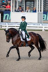 Merveldt Anna, IRL, Esporim<br /> European Championship Dressage<br /> Rotterdam 2019<br /> © Hippo Foto - Stefan Lafrentz