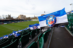 A general view of the Recreation Ground pitch - Mandatory byline: Patrick Khachfe/JMP - 07966 386802 - 02/03/2019 - RUGBY UNION - The Recreation Ground - Bath, England - Bath Rugby v Harlequins - Gallagher Premiership Rugby