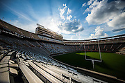 KNOXVILLE, TN - JULY 30, 2016 - Empty Neyland Stadium as clouds pass in Knoxville, TN. Photo By Craig Bisacre/Tennessee Athletics