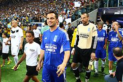 Falcao durante a 10ª edição do Jogo Contra a Pobreza - Match Against Poverty, na Arena do Grêmio, em Porto Alegre. FOTO: Lucas Uebel/Preview.com