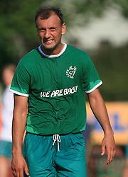 Zeljko Mitrakovic of Olimpija at final match of 2nd SNL league between NK Olimpija in NK Aluminij, on May 23, 2009, ZAK, Ljubljana, Slovenia. Aluminij won 2:1. NK Olimpija is a Champion of 2nd SNL and thus qualified to 1st Slovenian football league for season 2009/2010. (Photo by Vid Ponikvar / Sportida)