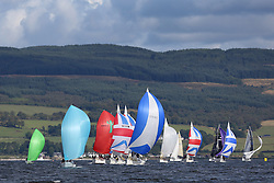 Peelport Clydeport, Largs Regatta Week 2014 Largs Sailing Club based at  Largs Yacht Haven with support from the Scottish Sailing Institute & Cumbrae.<br /> <br /> Class 2