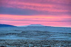 Sunrise near Skalafell, south of Iceland - Sólarupprás við Skálafell