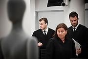 Lawyers of terrorist Anders Behring Breivik appears in court. From left, Tord Eskild Jordet, Vibeke Hein Baera and Odd Ivar Gron.