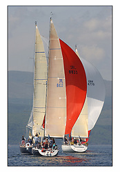 Bell Lawrie Series Tarbert Loch Fyne - Yachting.The third day's inshore races, which transpired to be the last...IRL8833, Dark Angel in Class one .