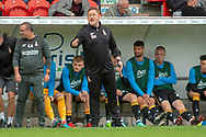 Bradford City Manager David Hopkin during the EFL Sky Bet League 1 match between Doncaster Rovers and Bradford City at the Keepmoat Stadium, Doncaster, England on 22 September 2018.