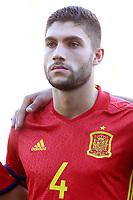 Spain's Nunez during international sub 21 friendly match. September 1,2017.(ALTERPHOTOS/Acero)
