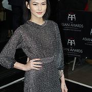 London,England,UK : 8th April 2016 : Asami Zdrenka attend the The Asian Awards 2016 at Grosvenor House Hotel, Park Lane, London. Photo by See Li